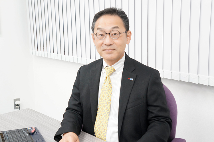 代表取締役社長 中島康充